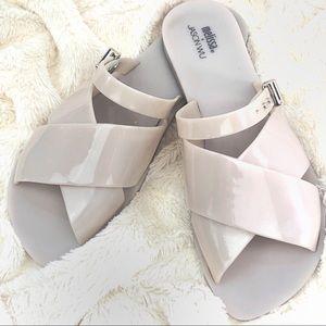MELISSA + JASON WU Jelly Sandals Size 8